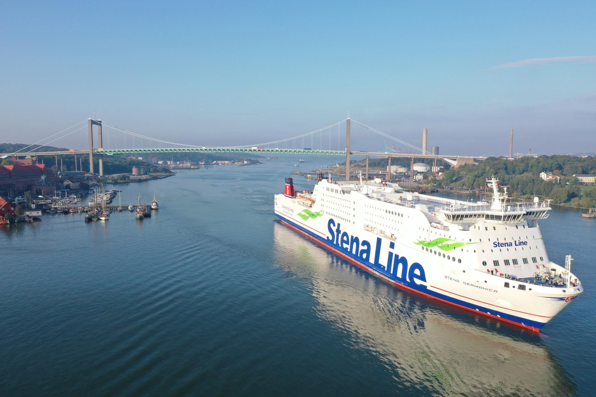 Stena Line uses recycled methanol to power its ferry Stena Germanica