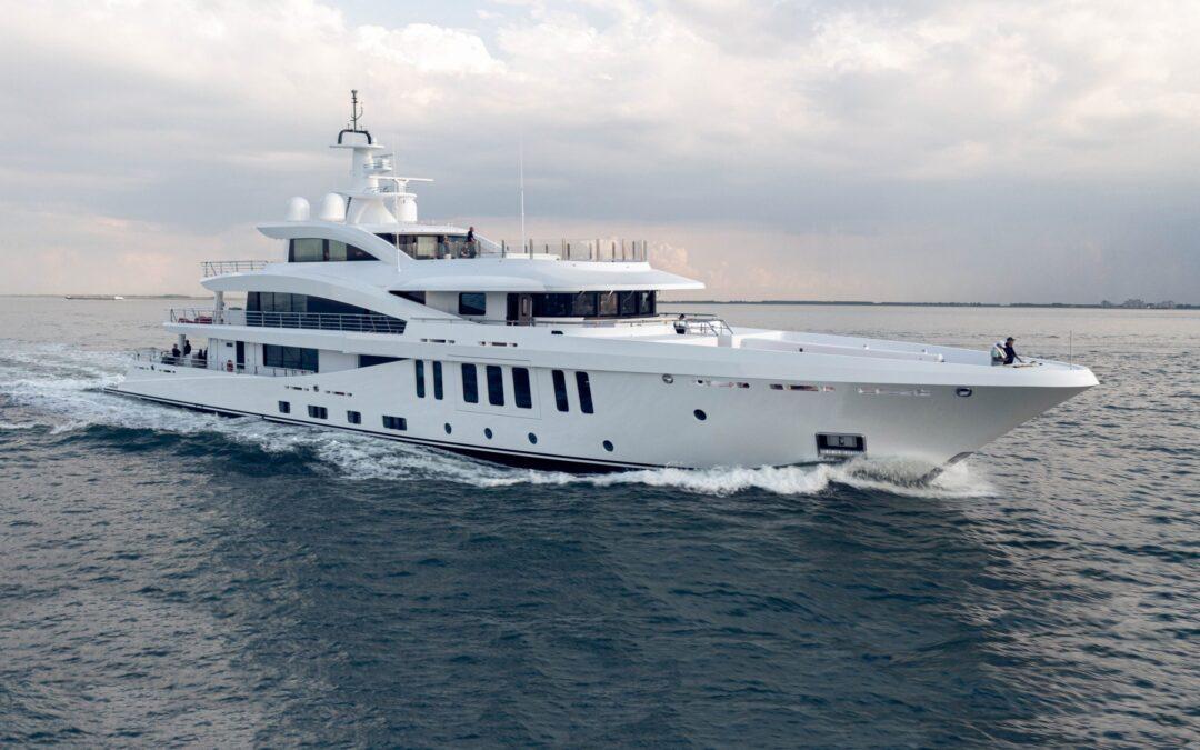 Damen Yachting delivers 60-metre superyacht Moonstone