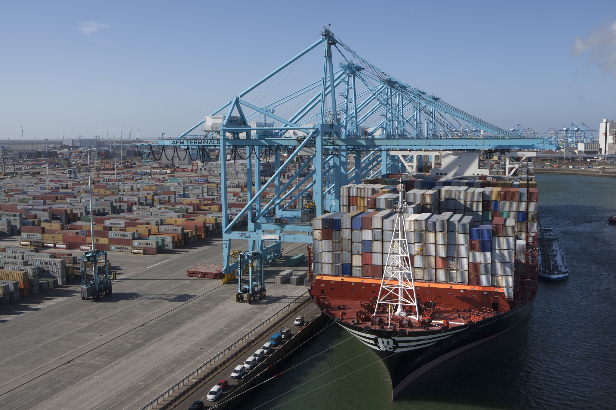 APMT plans to double the capacity of its Maasvlakte 2 terminal