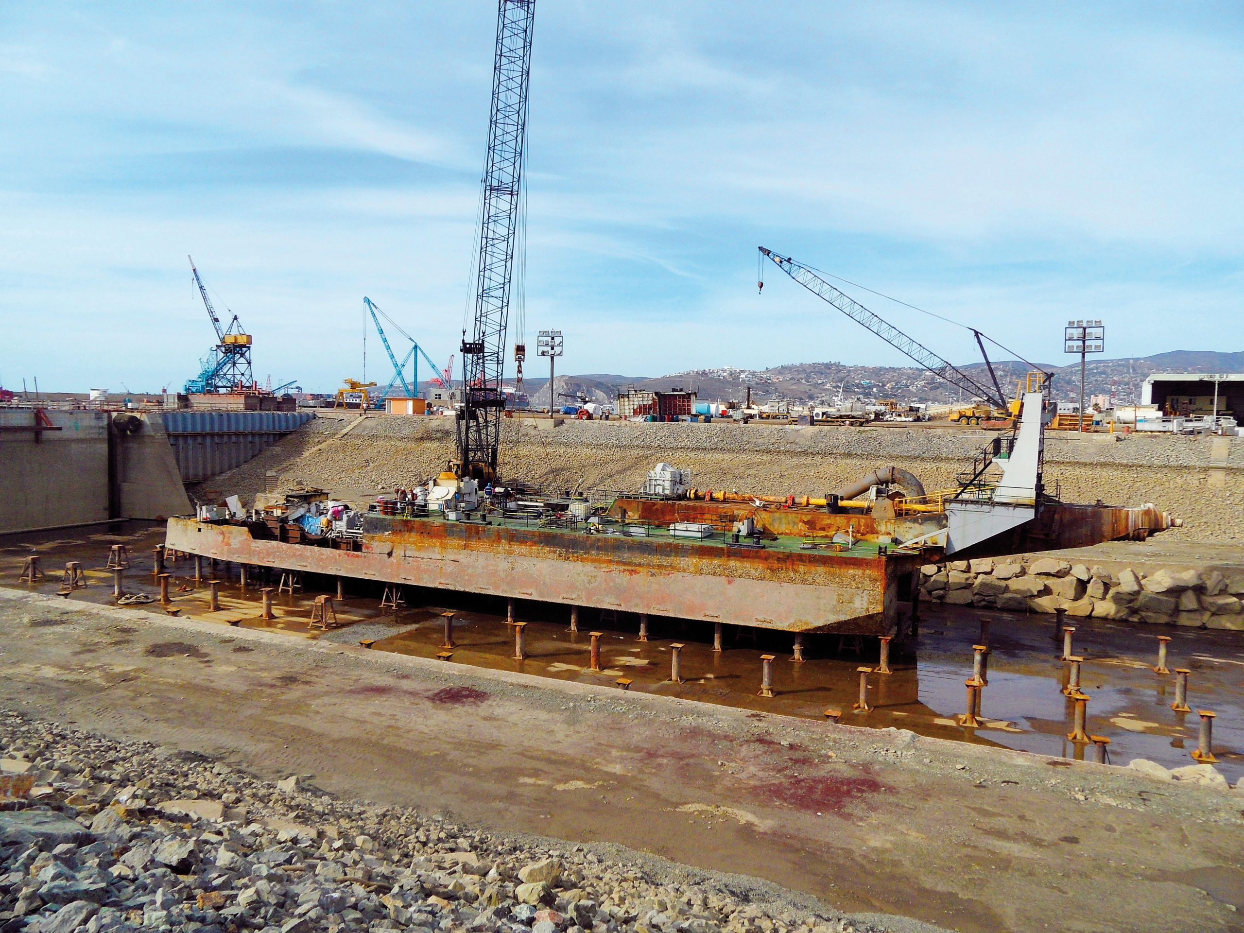 How Boskalis had one of its dredgers scrapped in Mexico