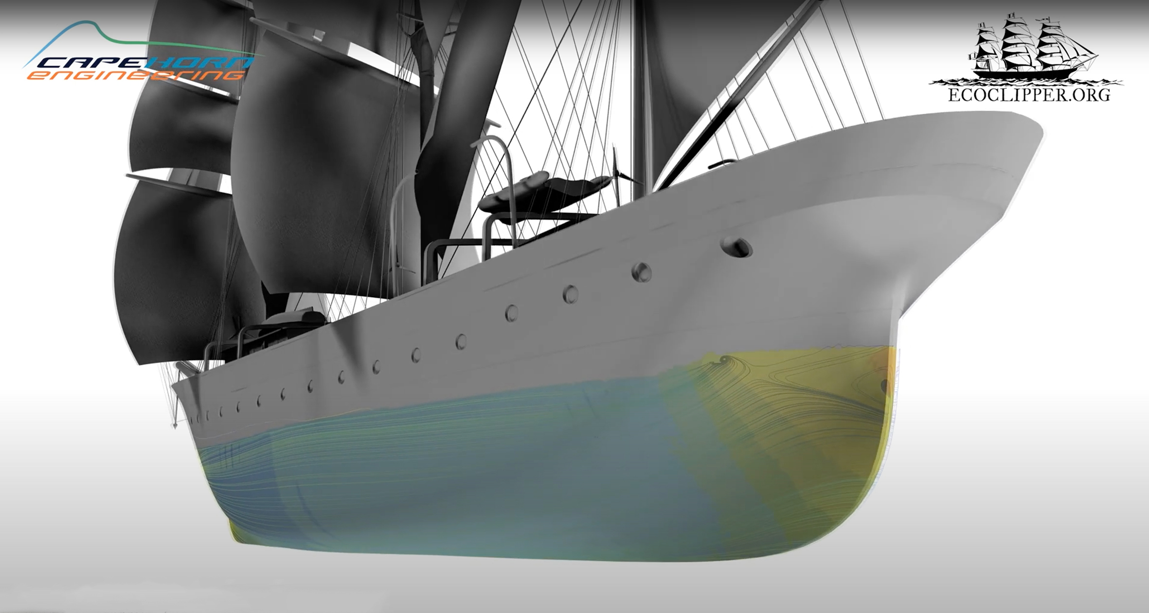 Cape Horn Engineering to help design hull for EcoClipper ship concept