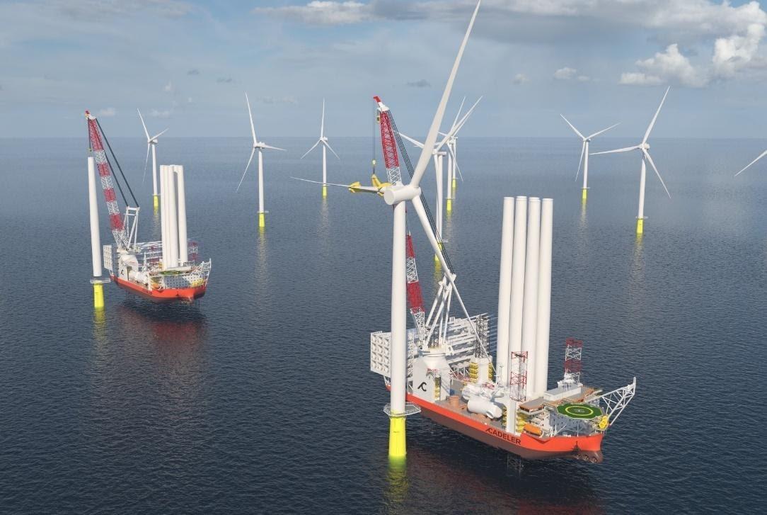 Cadeler orders next level offshore wind installation vessels