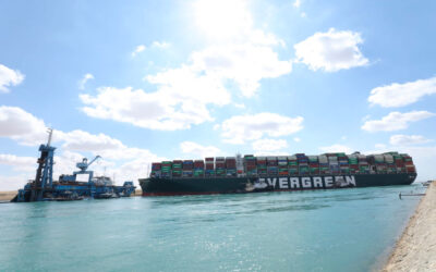 Rotterdam arrival of container ship Ever Given delayed by a day