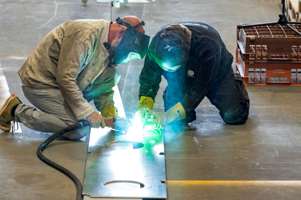 Construction of NIOZ' new research fleet starts with keel laying of Adriaen Coenen