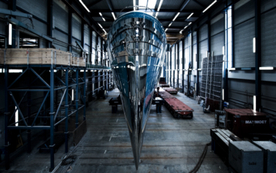 Royal Huisman launches 58.5-metre superyacht Phi
