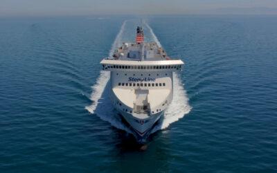 Stena Line's new ferry Stena Scandica completes maiden voyage