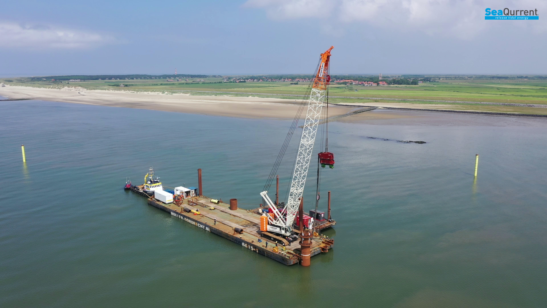 Underwater TidalKite ready for full-scale testing at Ameland