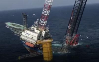 [VIDEO] Four missing after jacked up installation vessel tilts in Guangdong
