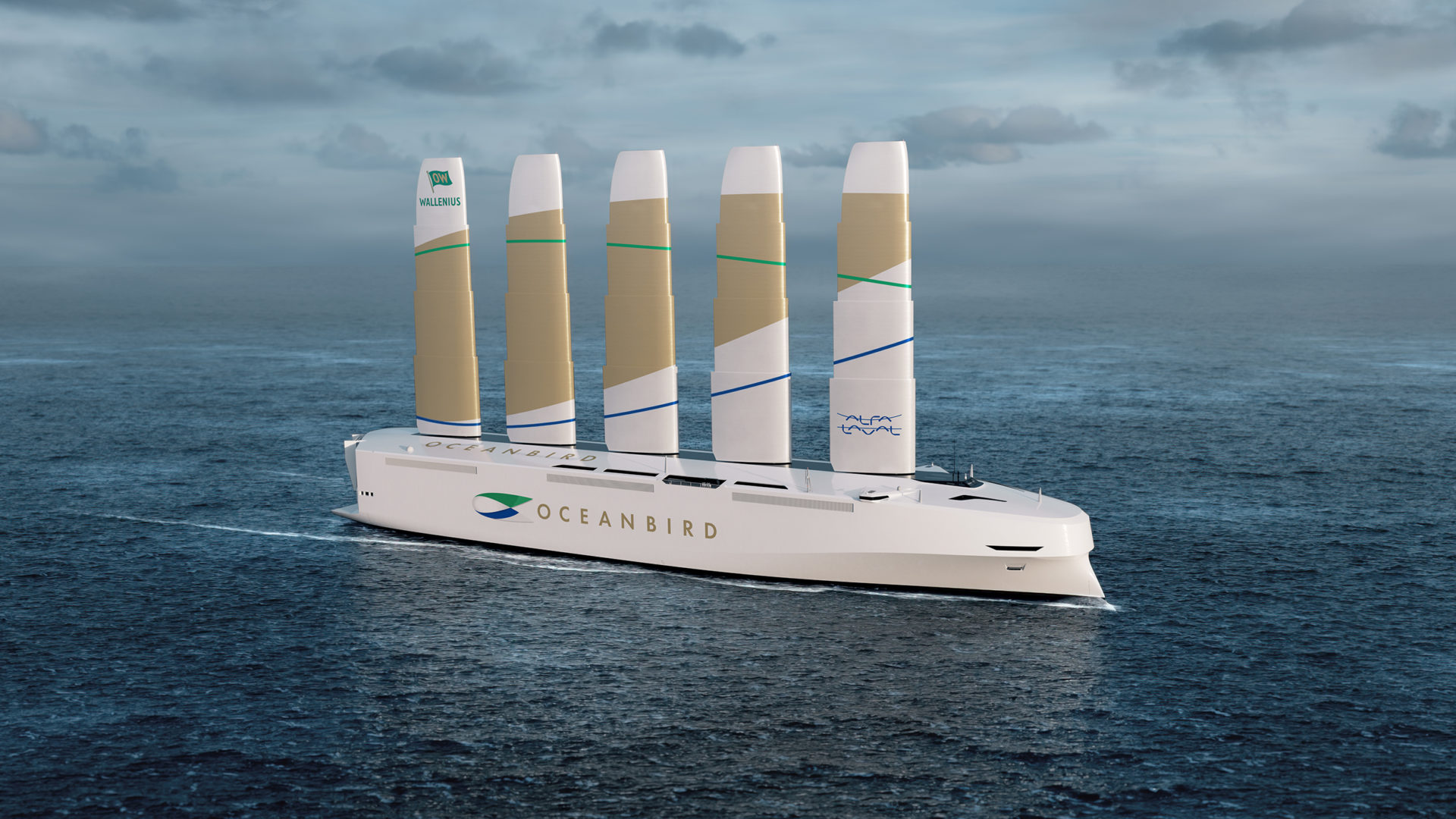 Wallenius and Alfa Laval in joint venture to realise wind-powered Oceanbird