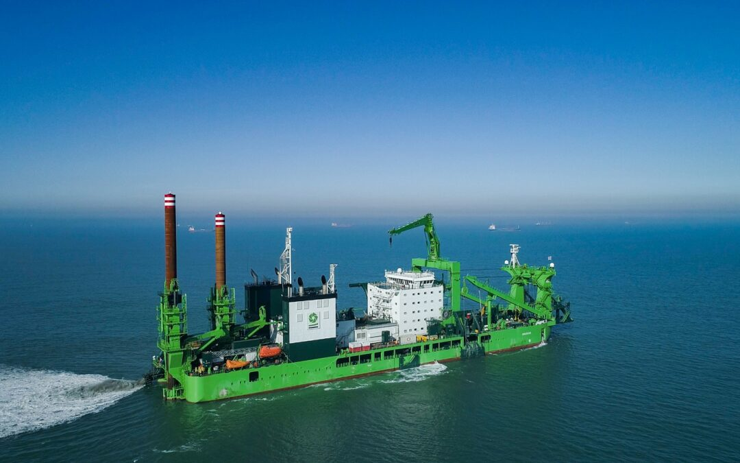 DEME adds world's most powerful cutter suction dredger to its fleet