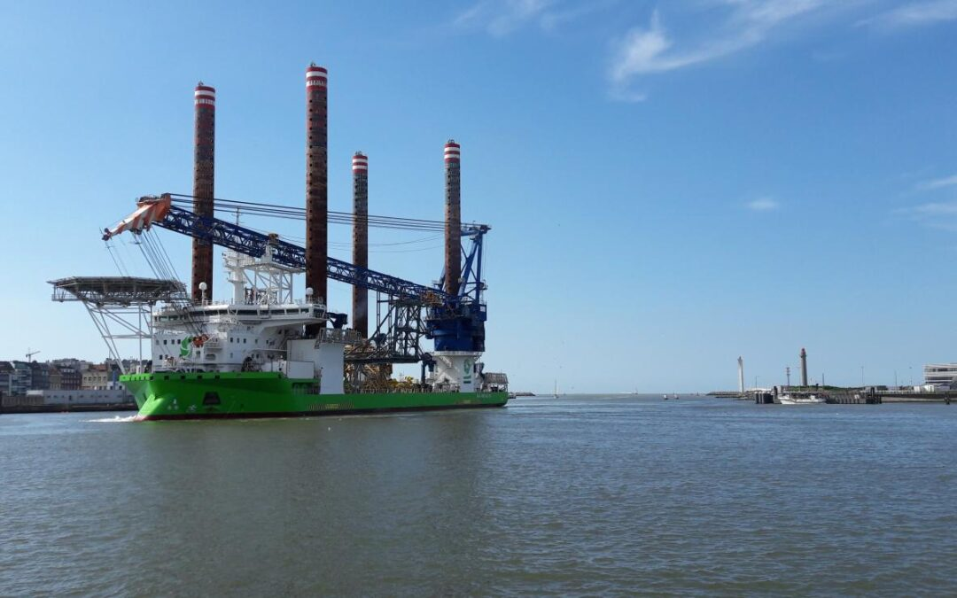 DEME modernises Sea Installer vessel with more powerful crane