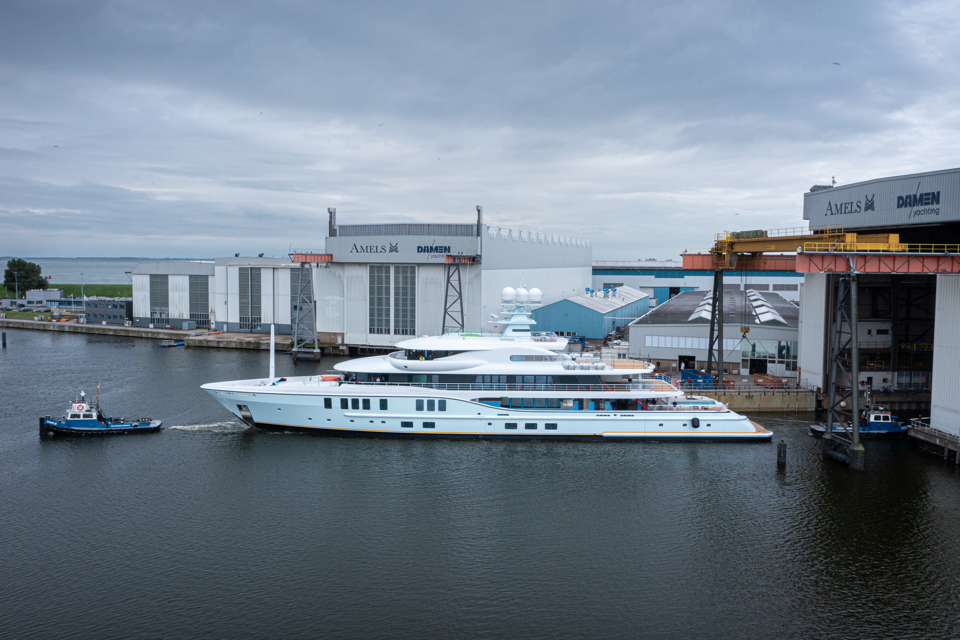 Amels launches 74-metre superyacht Project Shadow