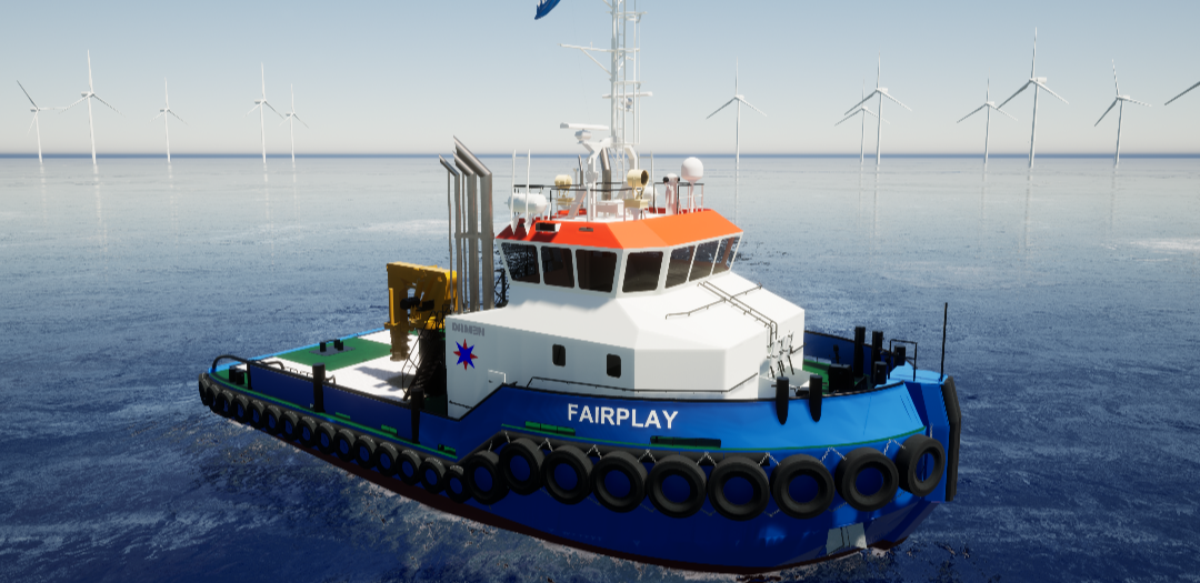 New tugboat deal for Damen in Poland