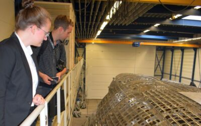 Student visit to Royal Huisman: 'Hybrid yachts are a market for the future'