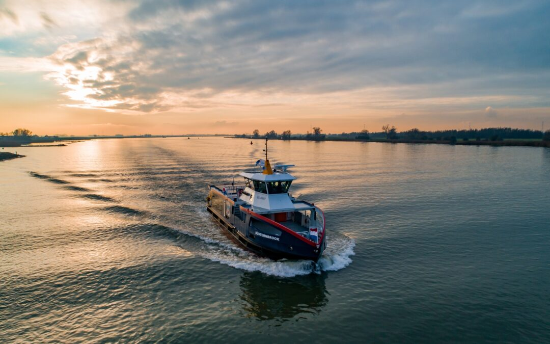Three electric ferries vie for KNVTS Ship of the Year Award 2021