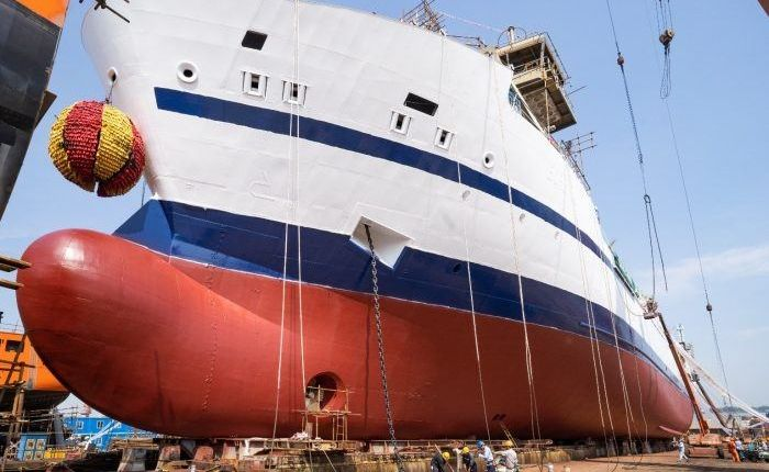 [VIDEO] First Bore RoLo vessel launched in China