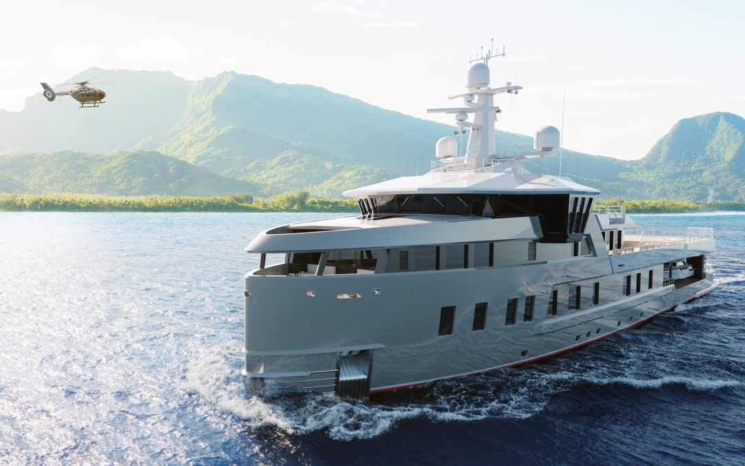 Damen Yachting builds new 60-metre SeaXplorer expedition yacht on spec