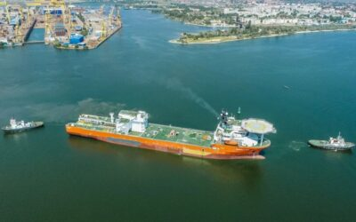 World's largest diamond recovery vessel for De Beers heads for Africa