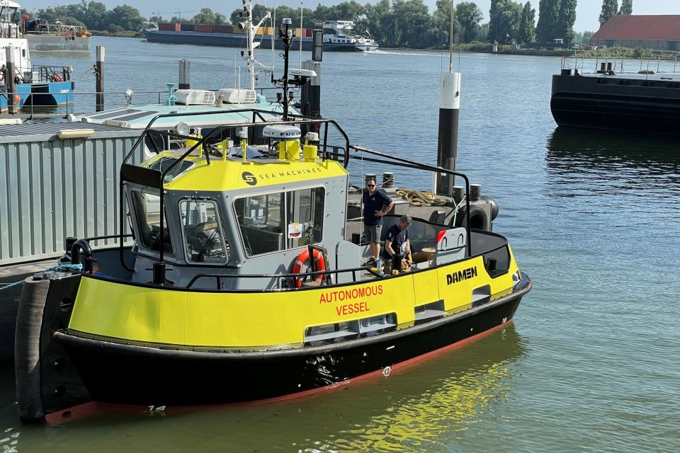 Tugboat to set sail for autonomous and remotely commanded journey around Denmark