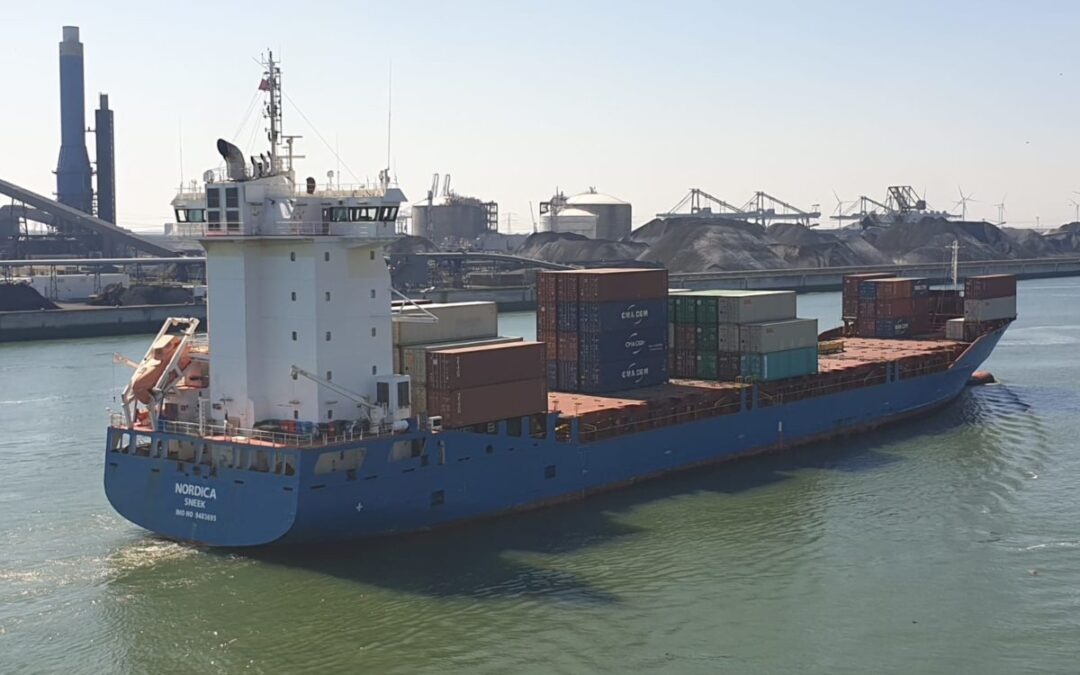 Value Maritime to install CO2 capture and storage on container ship Nordica
