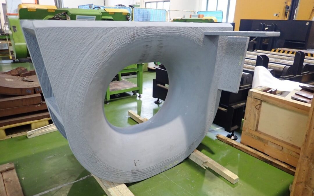 Verification certificate for the world's largest 3D printed shipboard fitting