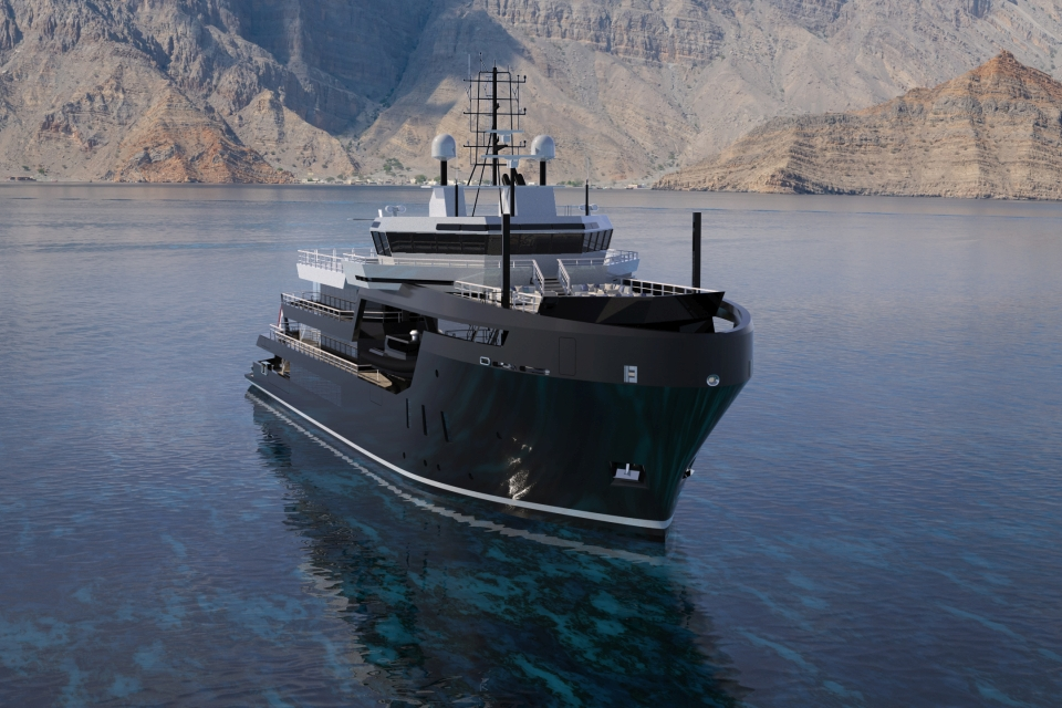 Icon Yachts to convert offshore vessel into 70-metre explorer yacht