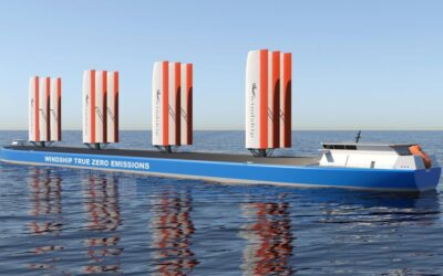 Approval in principle for Windship's triple-wing rigs