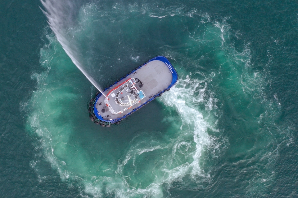 Navtek researches alternative fuels for fully-electric tugboat