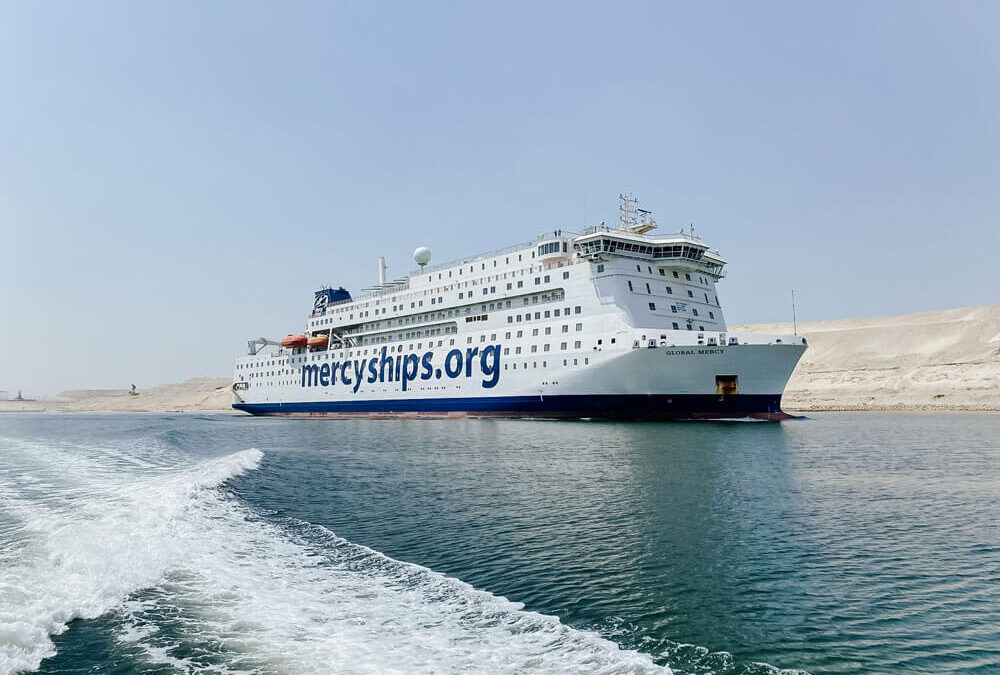 World's largest civilian hospital ship expected in Antwerp next week