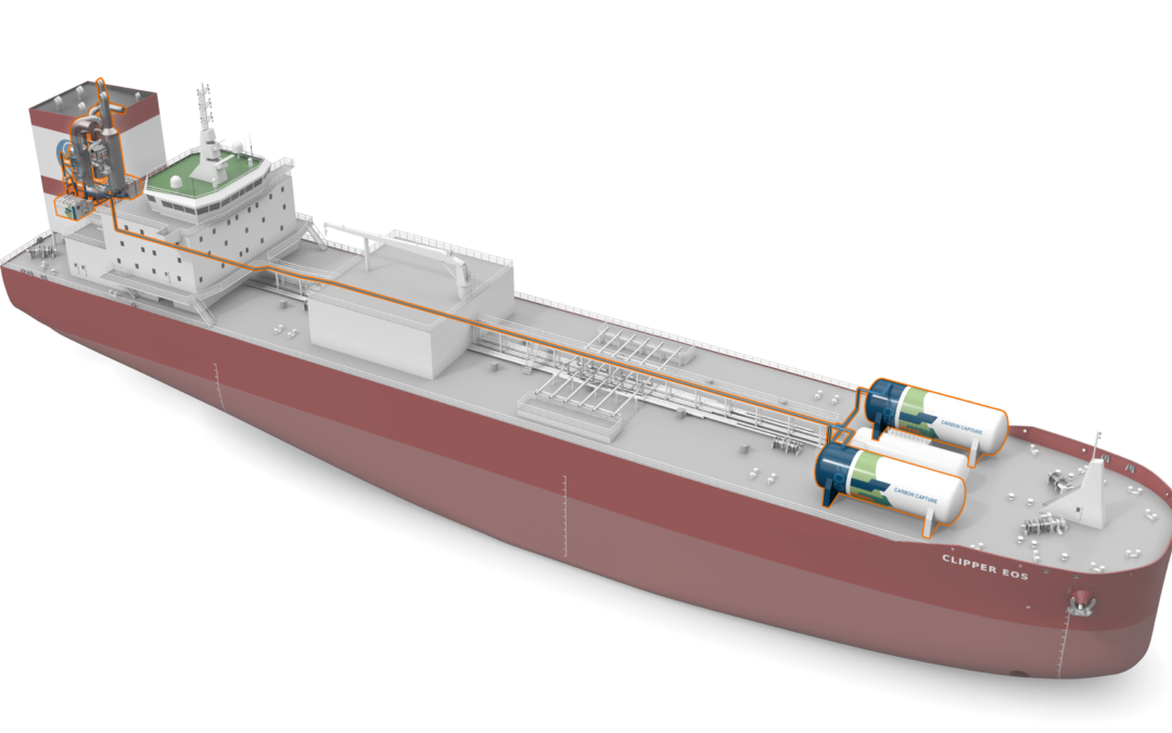 Wärtsilä and Solvang to retrofit tanker with carbon capture and storage