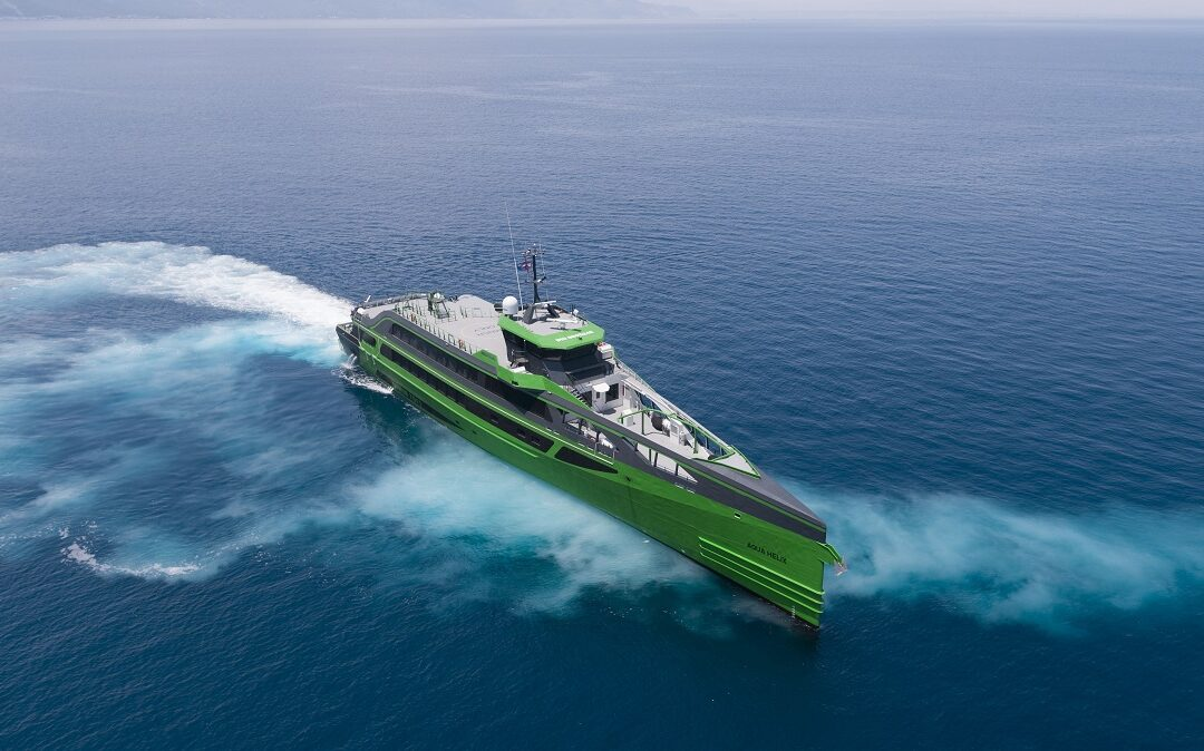 [VIDEO] Damen's latest addition to the Fast Crew Supplier range completes sea trials