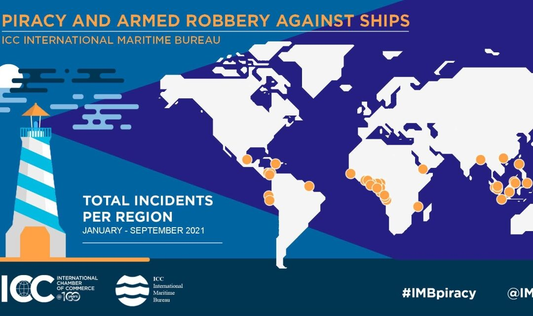 Piracy incidents at lowest level since 1994