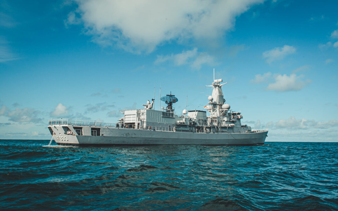 Belgian naval vessel excluded from training due to crew's inexperience