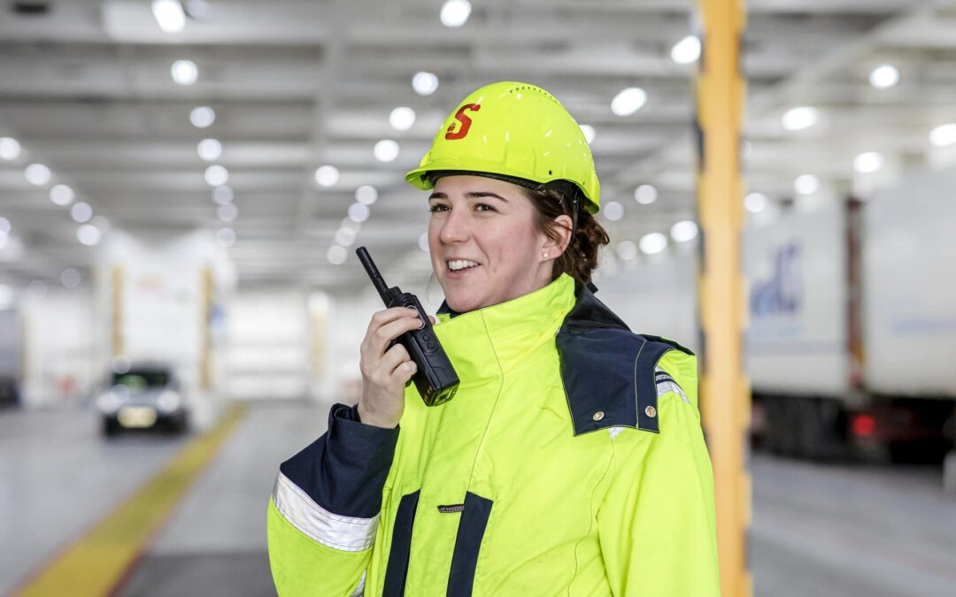 Stena Line appoints first female captain and says women are the answer to jobs crisis in shipping
