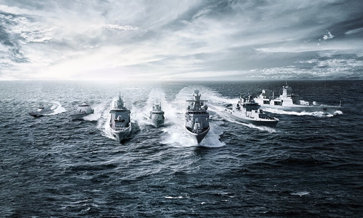 Lürssen divides company into Defence and Yachts division
