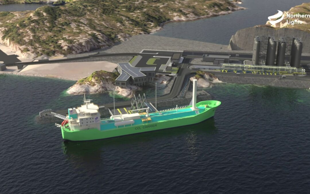Northern Lights orders CO2 carriers with WASP and air lubrication