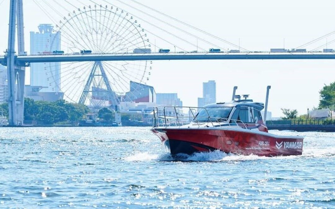 Yanmar carries out high-pressure ship refuelling with hydrogen